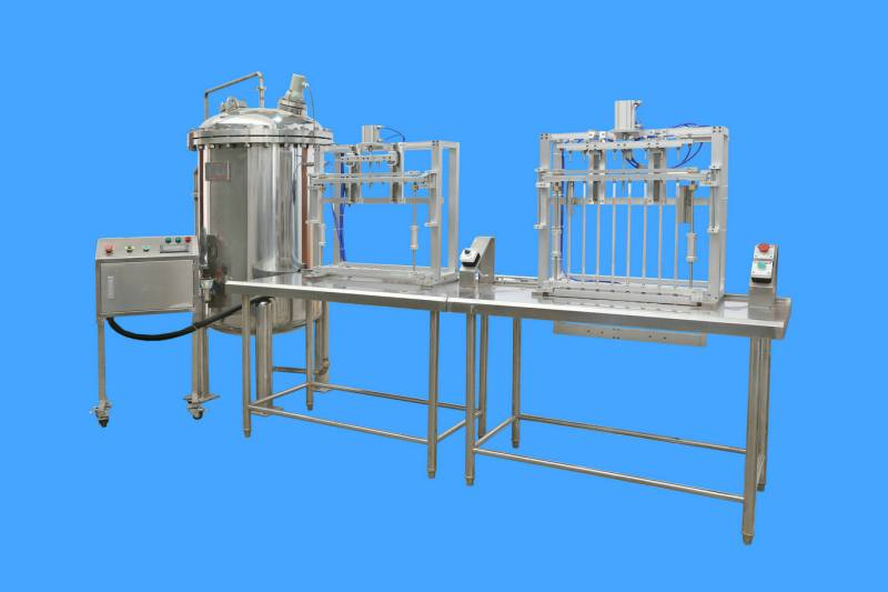 Reinforced endotracheal tube production line